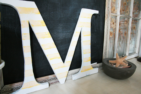 handmade wooden letters a simpler edition