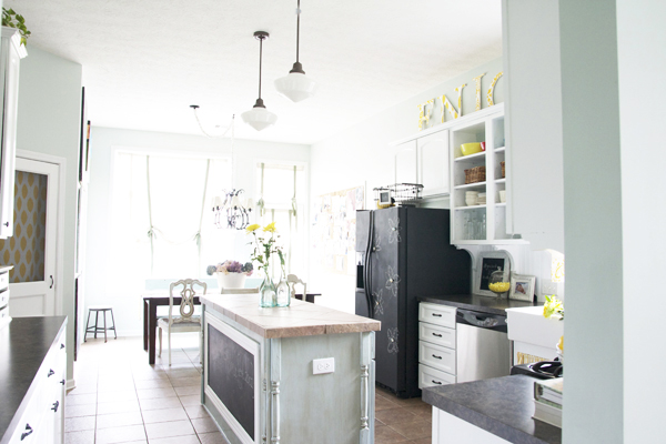 Diy Kitchen Cabinet Painting Before And After - Sarkem.net