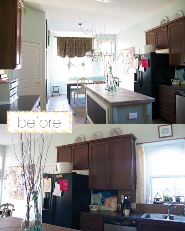 Redone Kitchen Cabinets: DIY Kitchen Redo