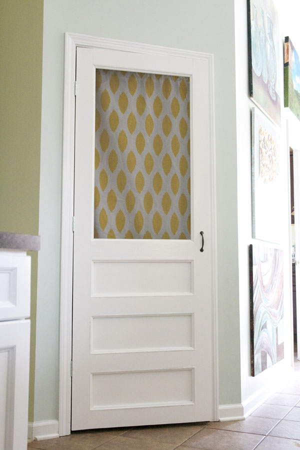 how to build a screen door - for your pantry