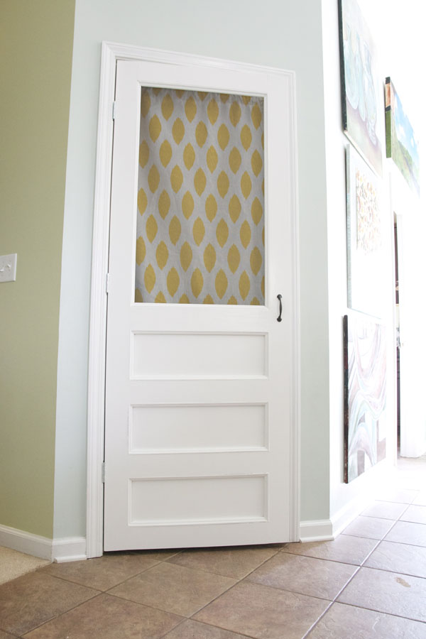 build a screen door - for your pantry, an easy simple full