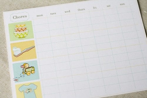 chore charts and potty partays ::  a lil somethin for the slightly overwhelmed parents