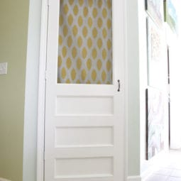 build a screen door – for your pantry