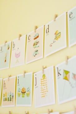 kids alphabet cards