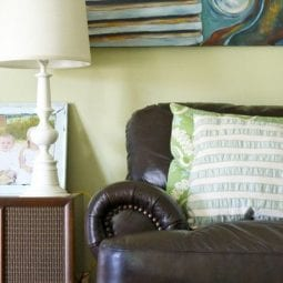 sofa remorse : living with a dark sofa