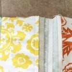 DIY : a patchwork lumbar pillow