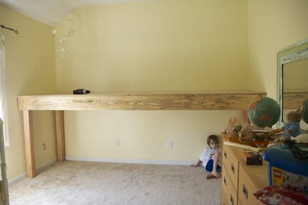 How to build a loft for How to make a high bed