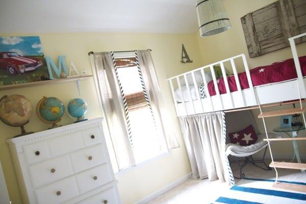 easily build a loft bed
