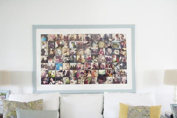 giant instagram frame