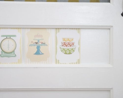 freebie of the month : kitchen printables