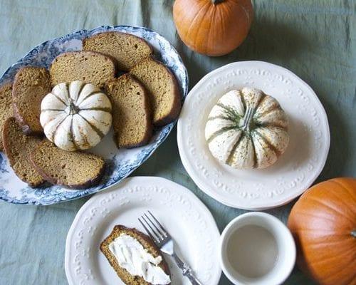 pumpkin + sour dough bread recipes