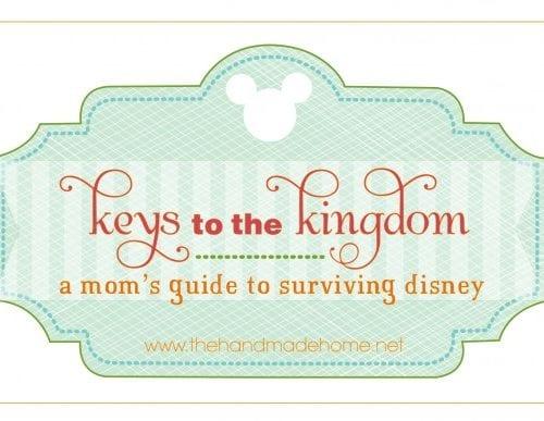 keys to the kingdom : a mom's guide to surviving disney