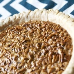 proudly procured pecan pie