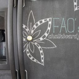 faq's : painting your fridge with chalkboard paint