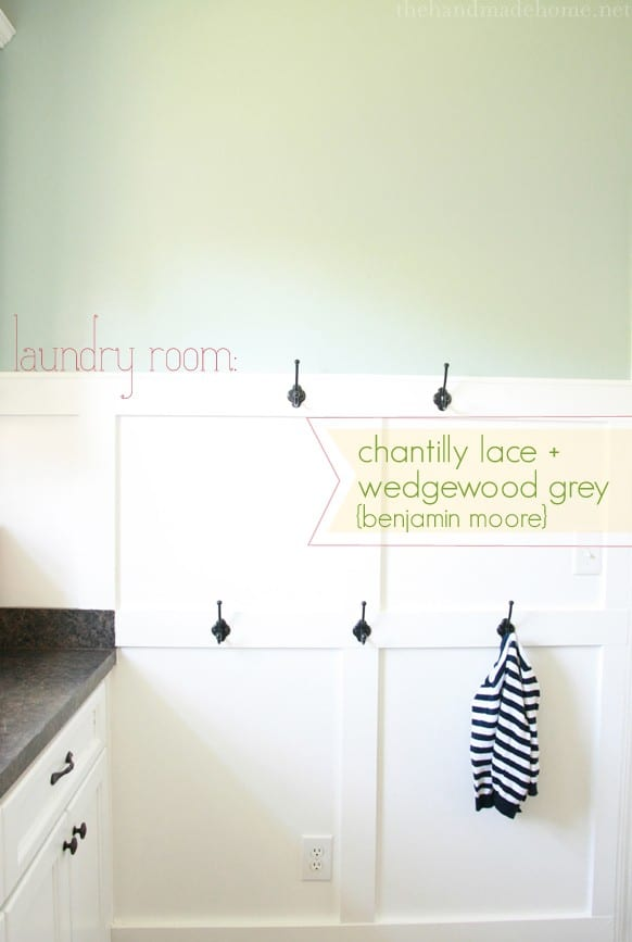 Colors used in our home Benjamin moore wedgewood gray living room