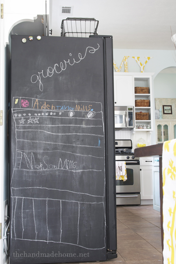 Faq S Painting Your Fridge With Chalkboard Paint