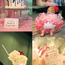 party inspiration : girly glam
