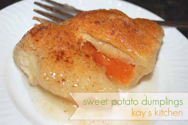 Kay S Kitchen Sweet Potato Dumplings