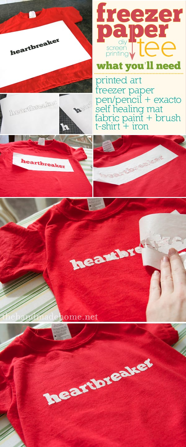 Valentine 39 s day heartbreaker tees for Diy screen printing t shirts