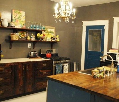 reader spaces : haley + brandon's kitchen