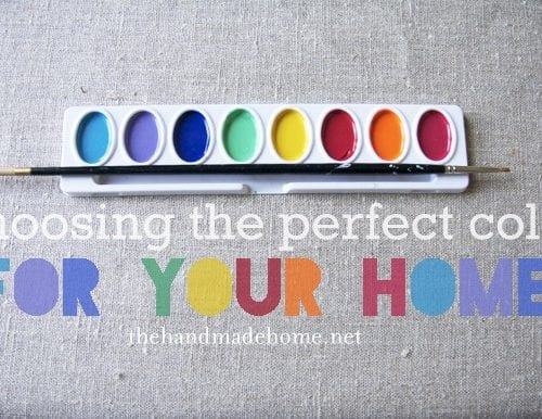 color theory 101 : colors in your home