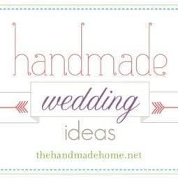 handmade wedding ideas : a few projects