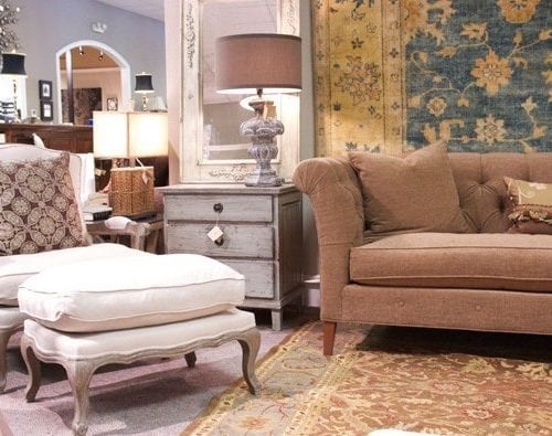 if chesterfields grew on trees : granville home furnishings + a treat for you