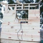 building a handmade hideaway : the roof {how to build a treehouse}