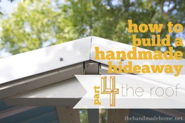& building a handmade hideaway : the roof how to build a treehouse memphite.com