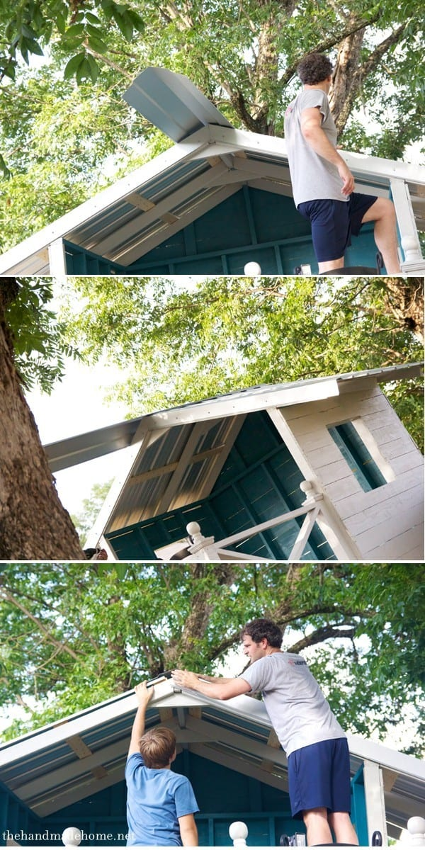 Building A Handmade Hideaway The Roof How To Build A