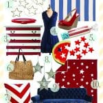stars and stripes, the fourth of july {and a flood giveaway}