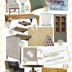 andella home {awesome eye candy + a home furnishings love story}