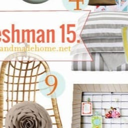 make me smile : freshman 15 {inspiration for college life}