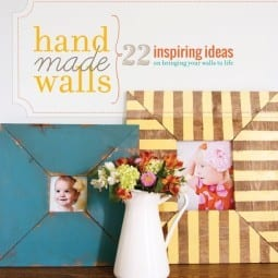 handmade walls : 22 inspiring ideas on bringing your walls to life