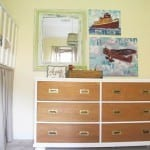 the mayflower + lazy option b. {a dresser redo}