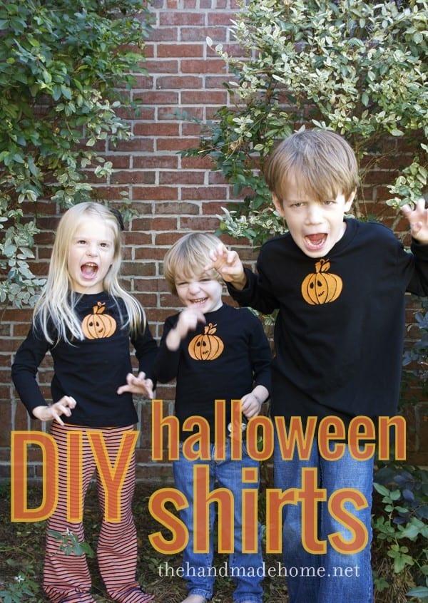 diy halloween t shirts - Homemade Halloween Shirts