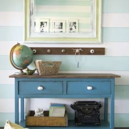 the handbuilt home + how we painted the hutch