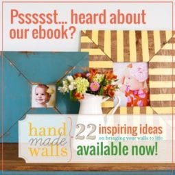 handmade walls : an ebook by the handmade home