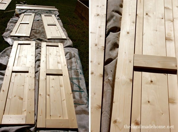 how to build shutters - inexpensive