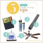 5 simple energy saving tips : prepping for winter