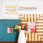 handmade walls : a giveaway