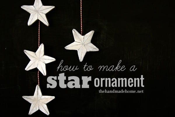 How to make a star ornament diy star decor for Star decorations for home