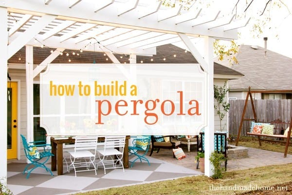 How to build a pergola Build a house online