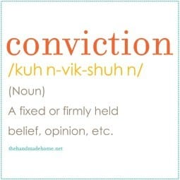 lazy gal's survival guide : guilt vs. conviction