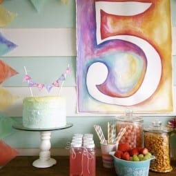 watercolor birthday ideas (tips and tricks)