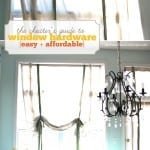 the cheater's guide to window hardware (easy diy windows)