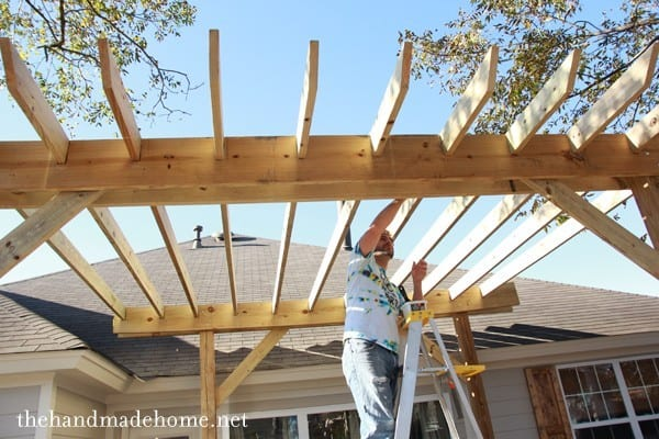 How to build a pergola for Build your home