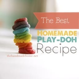 the best homemade play-doh (color intro)