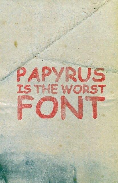 comic_sans_papyrus