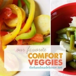 our favorite comfort veggies
